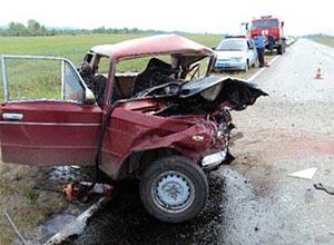 Пять человек погибли в Хакасии в ДТП