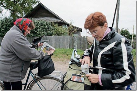 Почтальоны Хакасии будут ездить на велосипедах