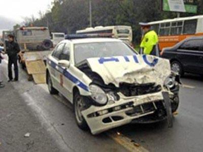 На Камчатке полицейский совершил ДТП, в котором пострадали три человека