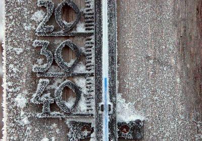 Мороз до минус 38 в Хакасии продлится до 12 февраля