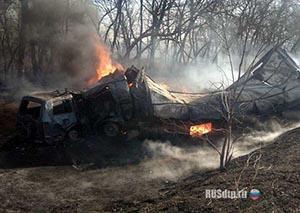 В Хакасии погиб водитель грузовика при столкновении автомобиля с электропоездом