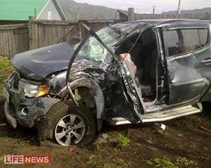 1 пассажир погиб, 14 - ранены. В Хакасии автобус столкнулся с иномаркой